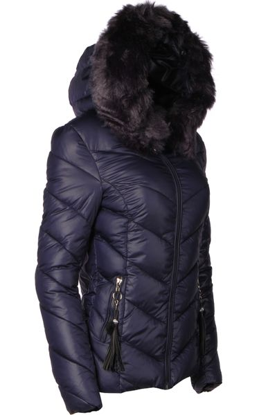Damen Winter Jacke Parka Mantel kurz – Bild 6