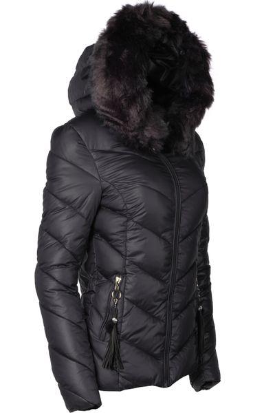 Damen Winter Jacke Parka Mantel kurz – Bild 21