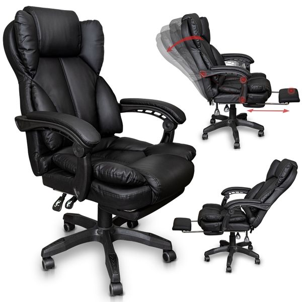 Chefsessel Bürostuhl Gamingstuhl Schreibtischstuhl – Bild 1
