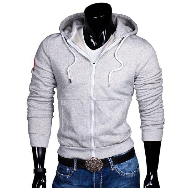 Herren Kapuzen Pullover Sweat Hoodie Jacke Pulli Sweatjacke – Bild 2