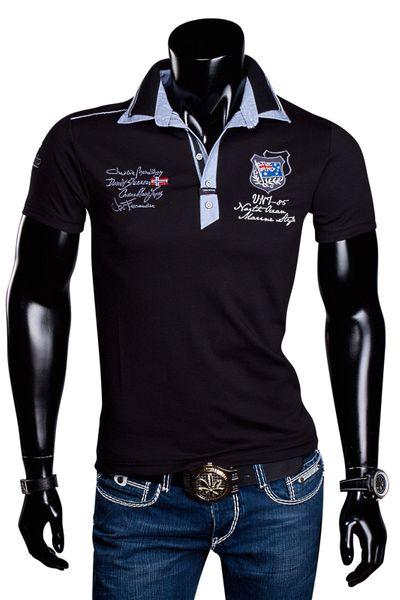 Herren T-Shirt Poloshirt Party Doppelkragen Violento Polo Sommer – Bild 11