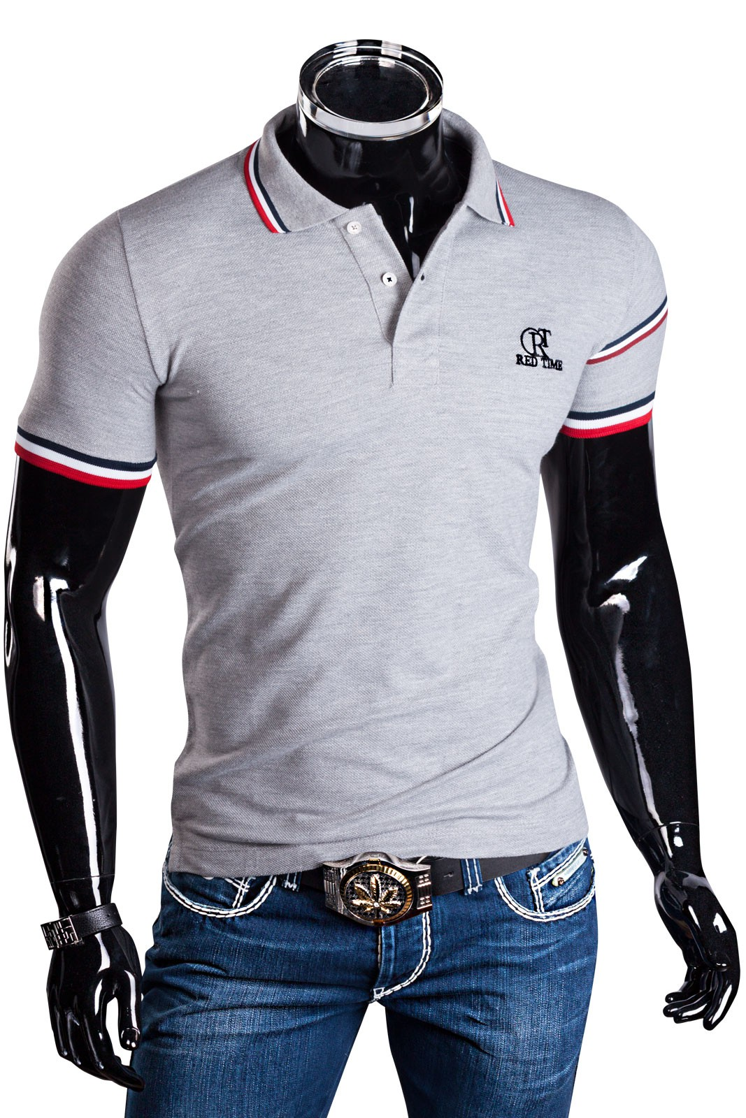 herren poloshirt t shirt monaco party sommer hemd slim fit. Black Bedroom Furniture Sets. Home Design Ideas