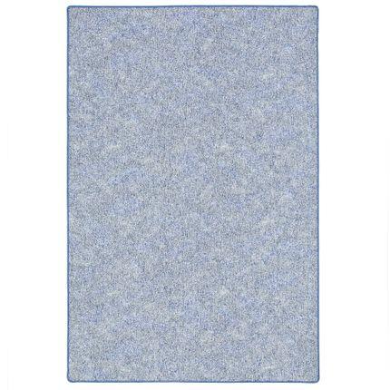 Schlingen Teppich Memory Blau Meliert in 24 Größen online kaufen