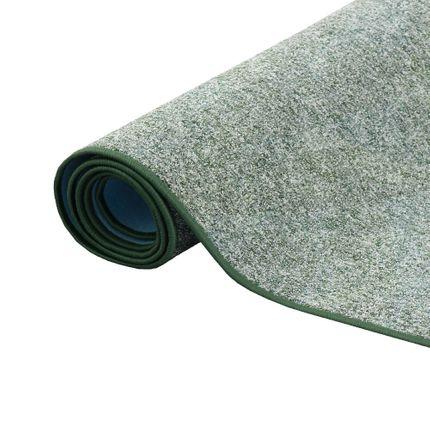 Schlingen Teppich Memory Grün Meliert in 24 Größen online kaufen