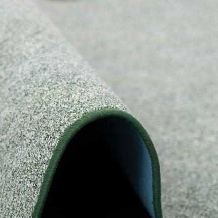 Schlingen Teppich Memory Grün Meliert Rund in 7 Größen online kaufen