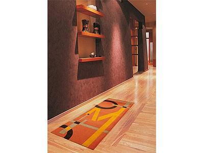 Sauberlauf Fußmatte Arte Espina Living Mats Letters Orange