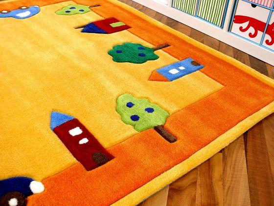 Lifestyle Kinderteppich Spielwelt Gelb  online kaufen