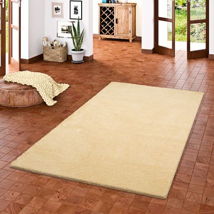 Hochflor Shaggy Teppich Palace Natur