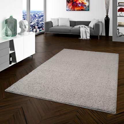 Teppich Hochflor Shaggy Prestige Grau in 22 Größen
