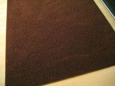 Teppich Hochflor Shaggy Prestige Braun  in 22 Größen online kaufen