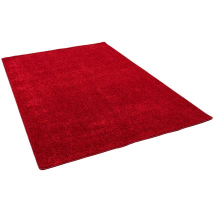 Hochflor Langflor Teppich Cottage Rot online kaufen
