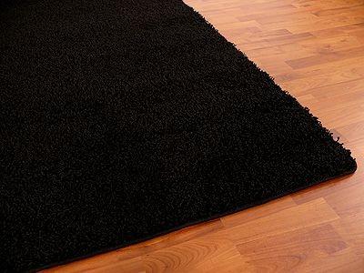Teppich Hochflor Shaggy Premio Schwarz in 22 Größen online kaufen