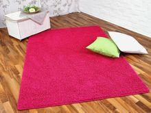 Hochflor Shaggy Teppich Prestige Pink in 24 Größen online kaufen