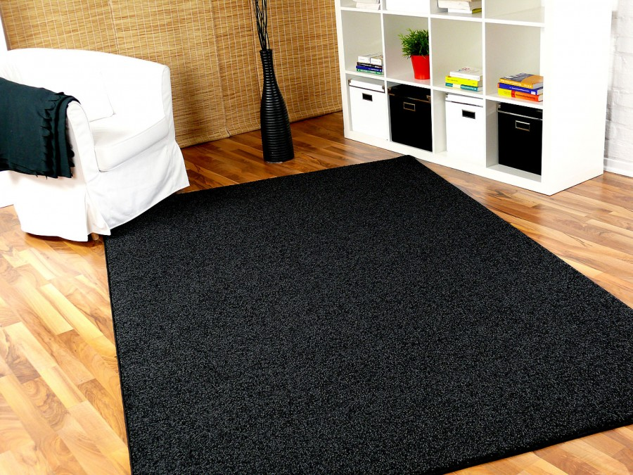 hochflor shaggy teppich prestige mix anthrazit teppiche. Black Bedroom Furniture Sets. Home Design Ideas