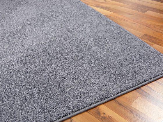 Hochflor Velours Teppich Triumph Grau in 24 Größen online kaufen