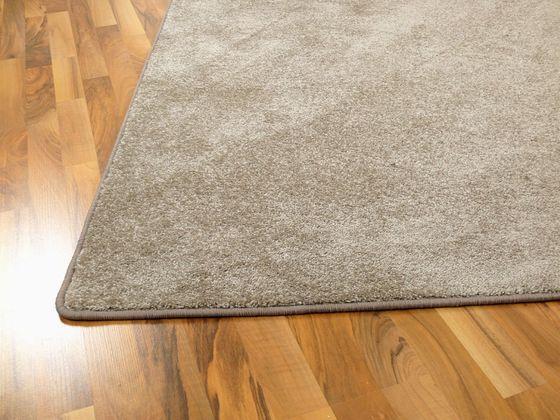 Hochflor Velours Teppich Triumph Taupe in 24 Größen online kaufen