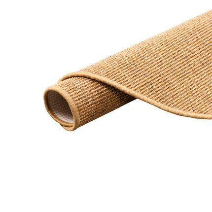 Sisal Natur Teppich Astra Nuss Rund in 7 Größen online kaufen