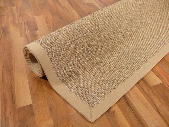 Sisal Astra Natur Teppich Nuss Bordüre Beige online kaufen