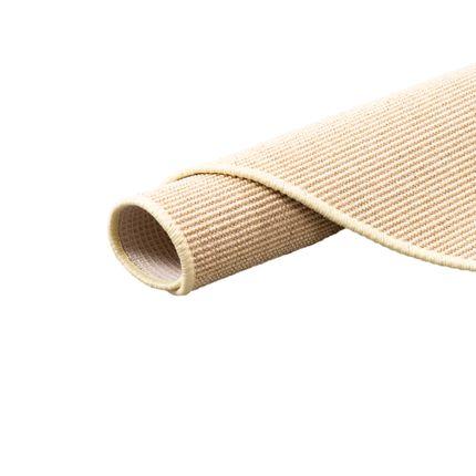 Sisal Natur Teppich Dekowe Creme Rund online kaufen