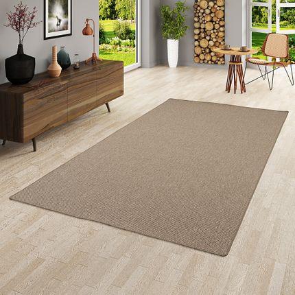 Teppich Bentzon Flachgewebe Braun online kaufen