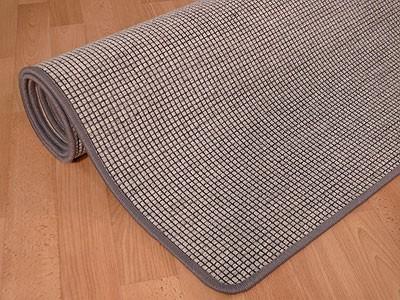 Teppich Bentzon Spezial Flachgewebe Grau