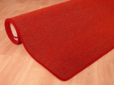 Teppich Bentzon Spezial Flachgewebe Rot
