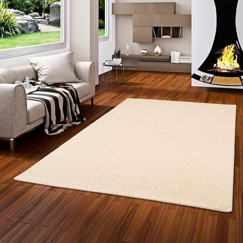 Natur Teppich Wolle Berber Beige Teppiche Sisal Und Naturteppiche
