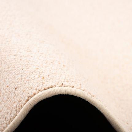 Natur Teppich Wolle Berber Beige Rund online kaufen