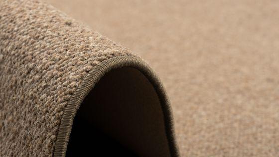 Natur Teppich Wolle Berber Braun online kaufen