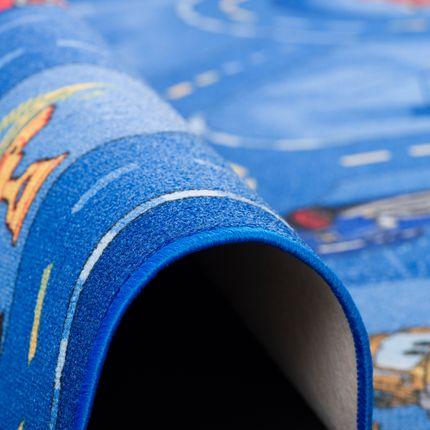 Kinder Spiel Teppich Walt Disney Cars Auto Blau Rund in 7 Größen online kaufen