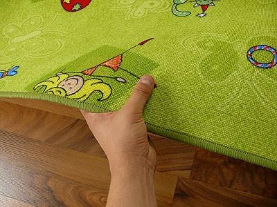 Kinder Spielteppich Grün Girls  online kaufen