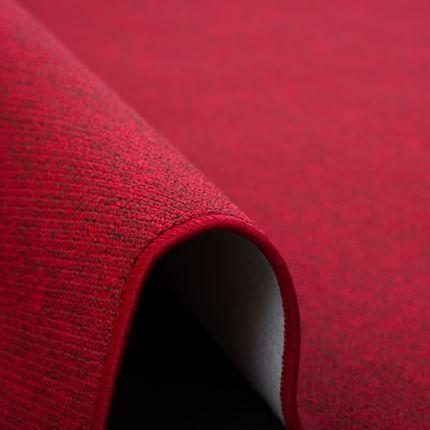 Feinschlingen Velour Teppich Strong Rot online kaufen