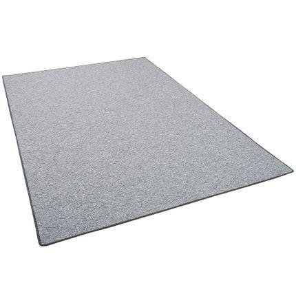 Feinschlingen Velour Teppich Strong Silbergrau online kaufen