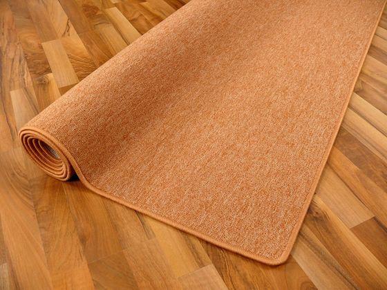 Feinschlingen Velour Teppich Strong Orange online kaufen