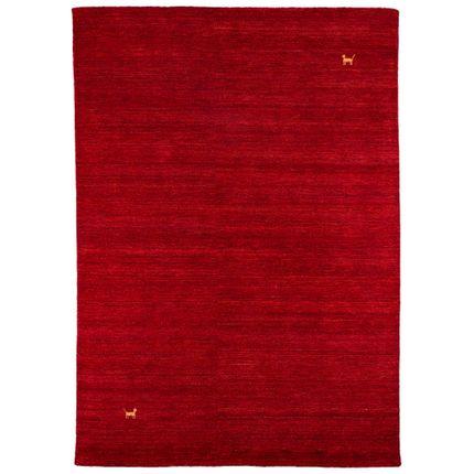 Natur Teppich Indo Nepal Gabbeh Shiva Rot online kaufen