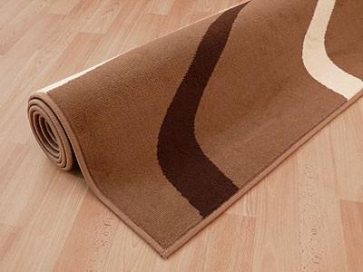Teppich Modern Trendline Braun Kakao Retro - ABVERKAUF online kaufen
