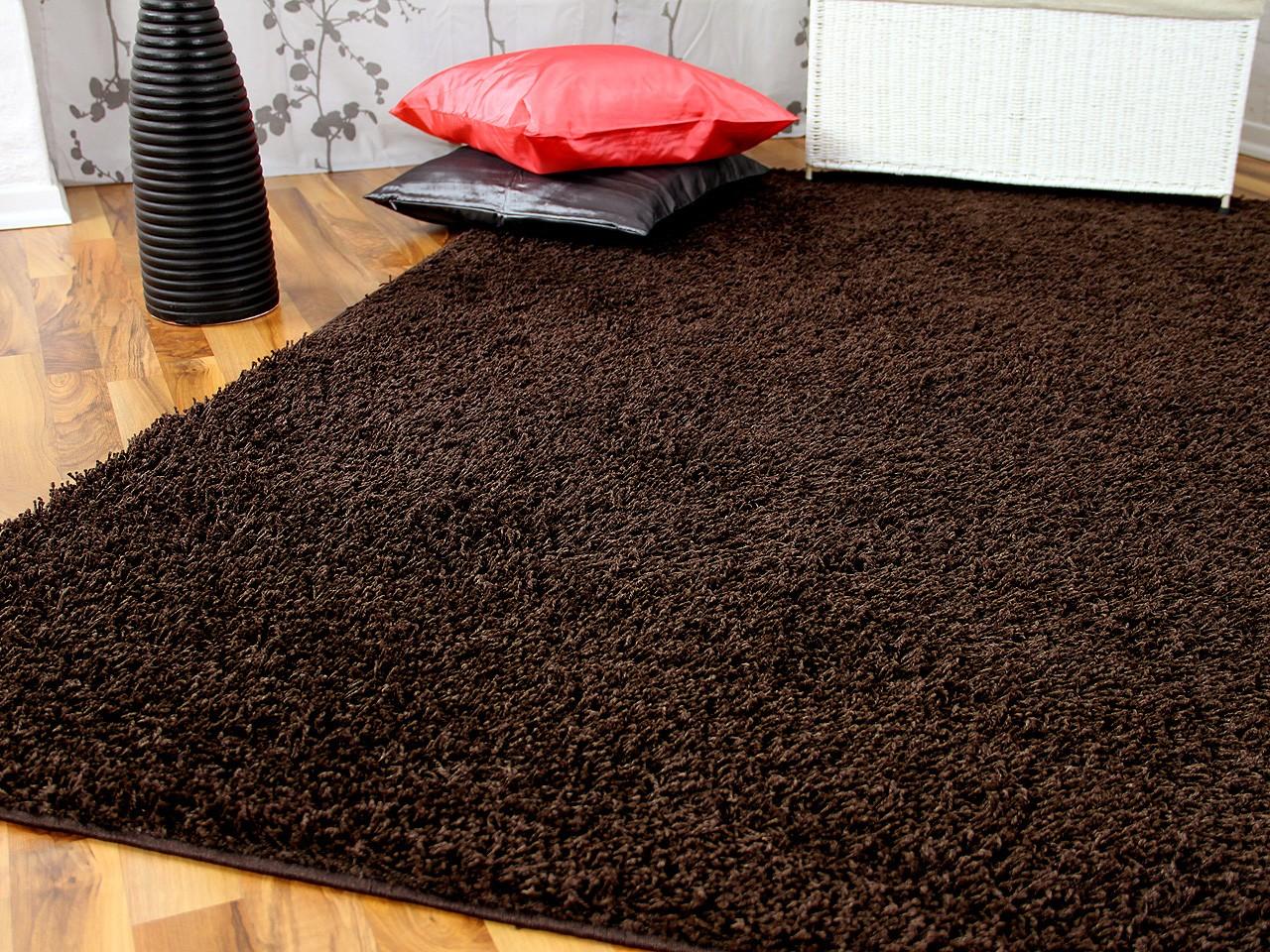 hochflor langflor teppich shaggy nova braun teppiche hochflor langflor teppiche braun und choco. Black Bedroom Furniture Sets. Home Design Ideas