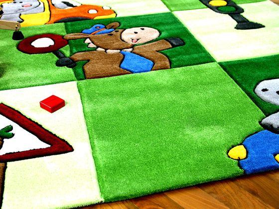 Lifestyle Kinderteppich Ampel Grün  online kaufen