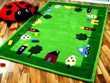 Lifestyle Kinderteppich Spielwelt Grün  online kaufen