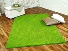 Hochflor Shaggy Teppich Prestige Lindgrün in 24 Größen online kaufen