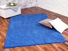 Hochflor Shaggy Teppich Prestige Blau in 24 Größen online kaufen