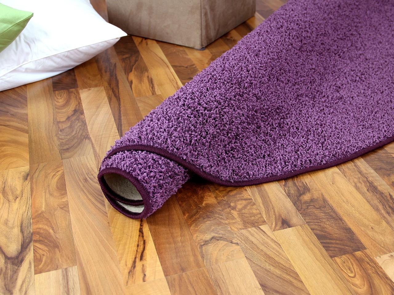 hochflor shaggy teppich prestige flieder rund teppiche. Black Bedroom Furniture Sets. Home Design Ideas
