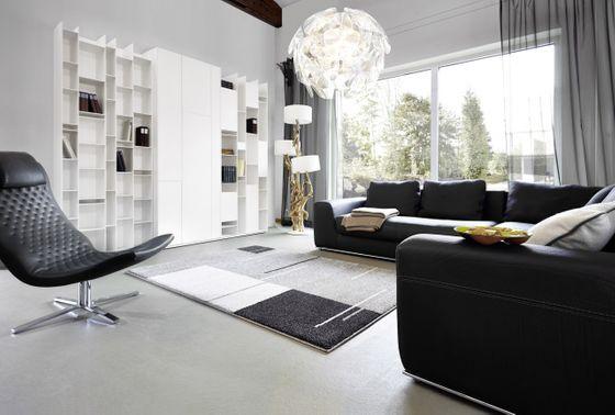 Astra Luxus Teppich Samoa Design Trend Grau online kaufen