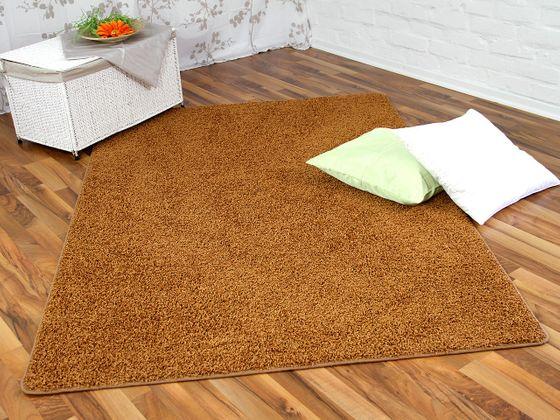 Hochflor Shaggy Teppich Prestige Terrakotta