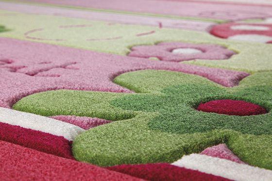 ESPRIT Kinderteppich Pink Ladybird   online kaufen