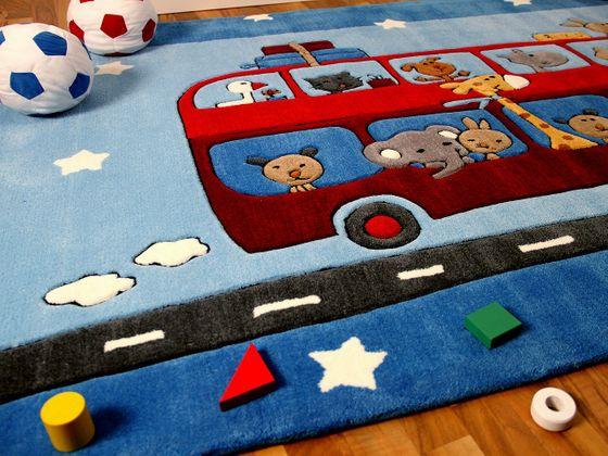 Lifestyle Kinderteppich Road Trip  online kaufen