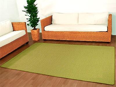 Sisal Natur Teppich Dekowe Hellgrün online kaufen
