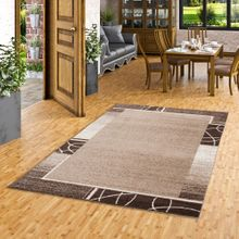 Designer Teppich Softstar Braun Kakao Trend online kaufen