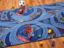 Kinder Spielteppich Disney Planes Blau  online kaufen