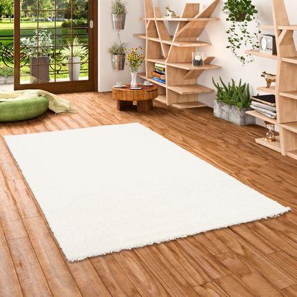 Hochflor Langflor Shaggy Teppich Aloha Weiß online kaufen